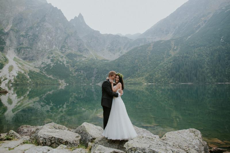 fotografia ślubna Kielce, sesja ślubna Zakopane, zdjęcia ślubne morskie oko