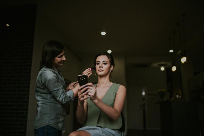make up ślubny kielce