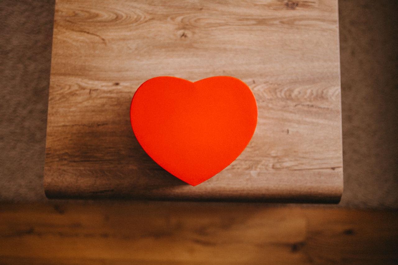 serce ślubne
