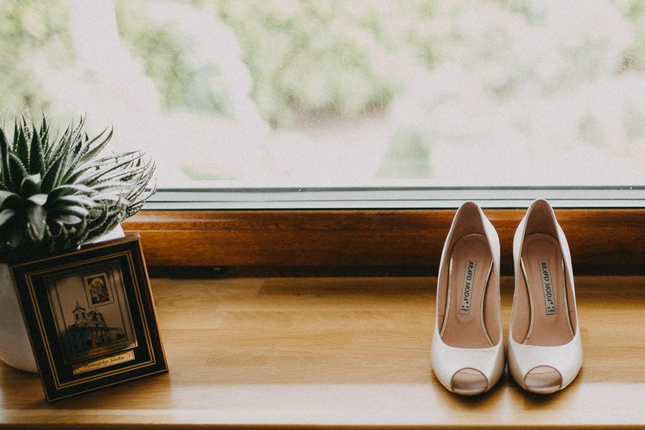 buty ślubne, buty Pani Młodej
