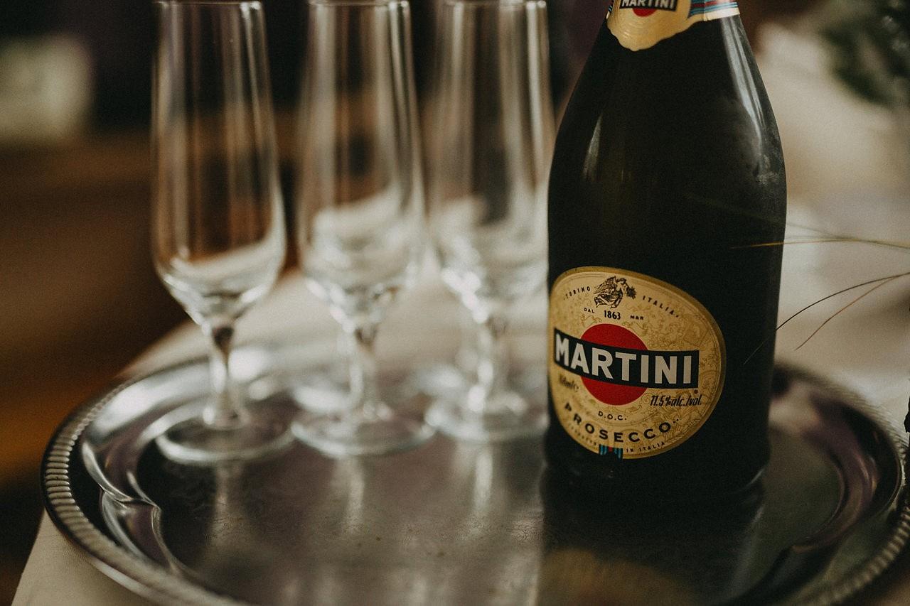 szampan ślubny