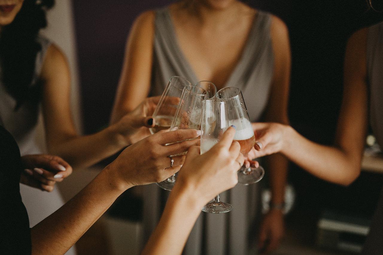toast ślubny