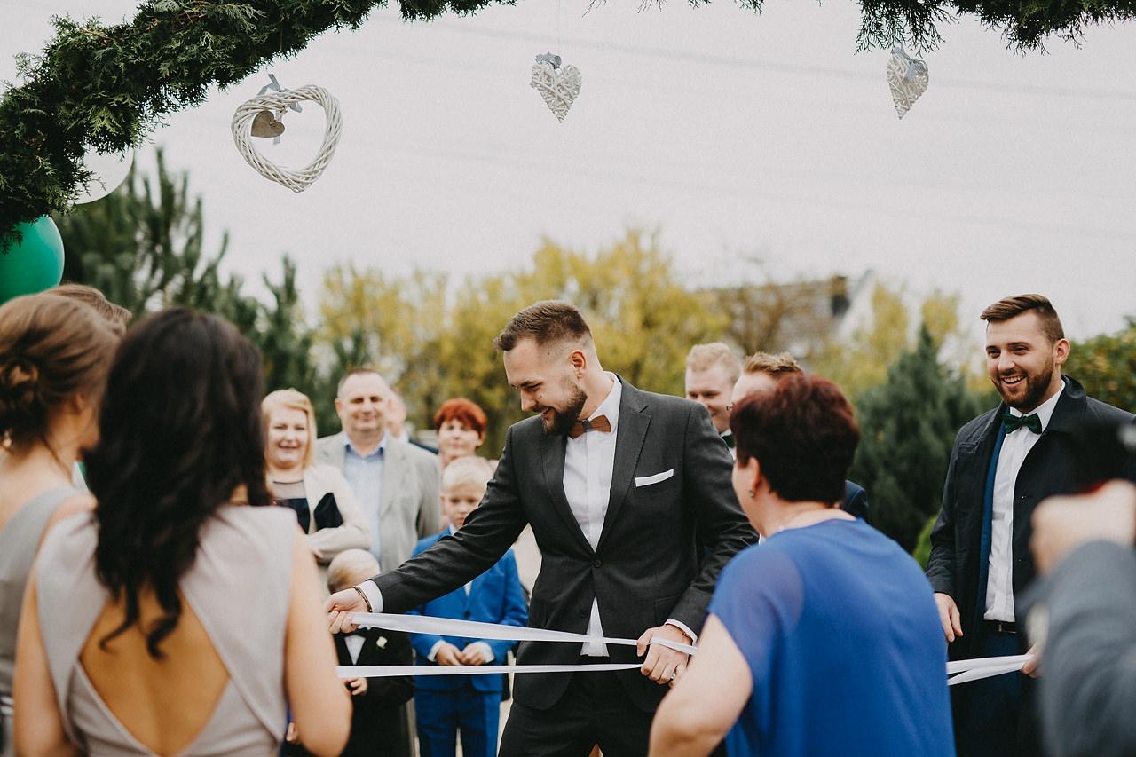 bramka weselna
