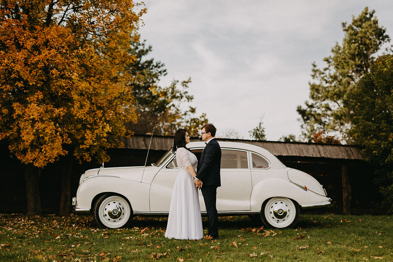 Plener ślubny jesienią