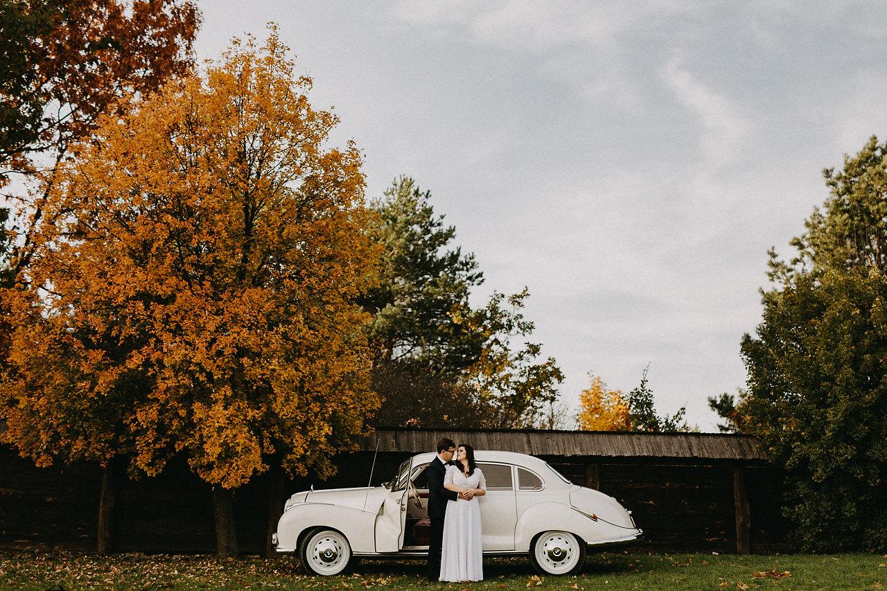 Zdjęcia ślubne jesienią