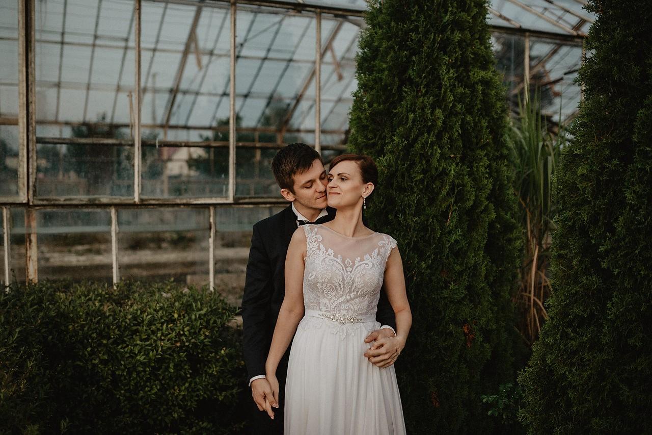 Fotografia Ślubna Kielce, fotograf ślubny Kielce, sesja ślubna w szklarni