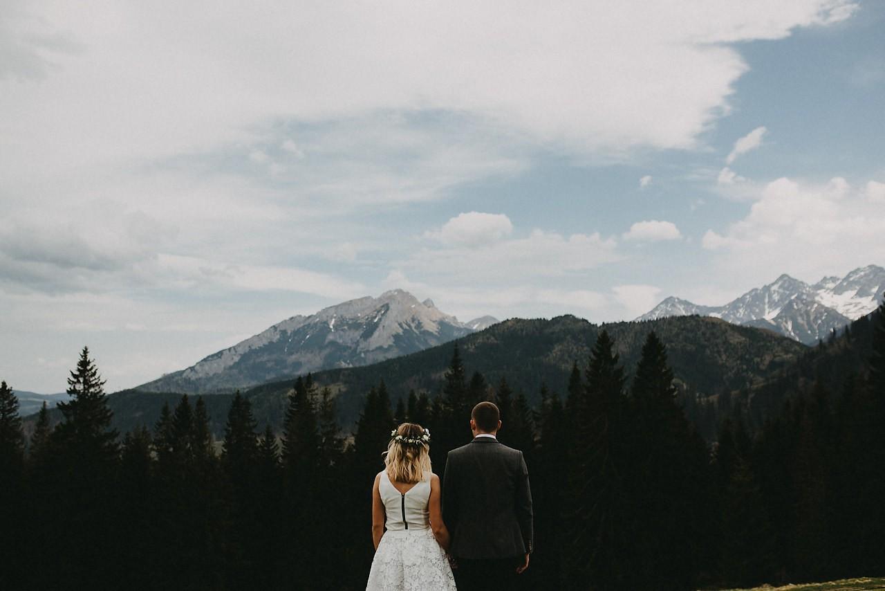 plener ślubny zakopane, zdjecia ślubne w gorach