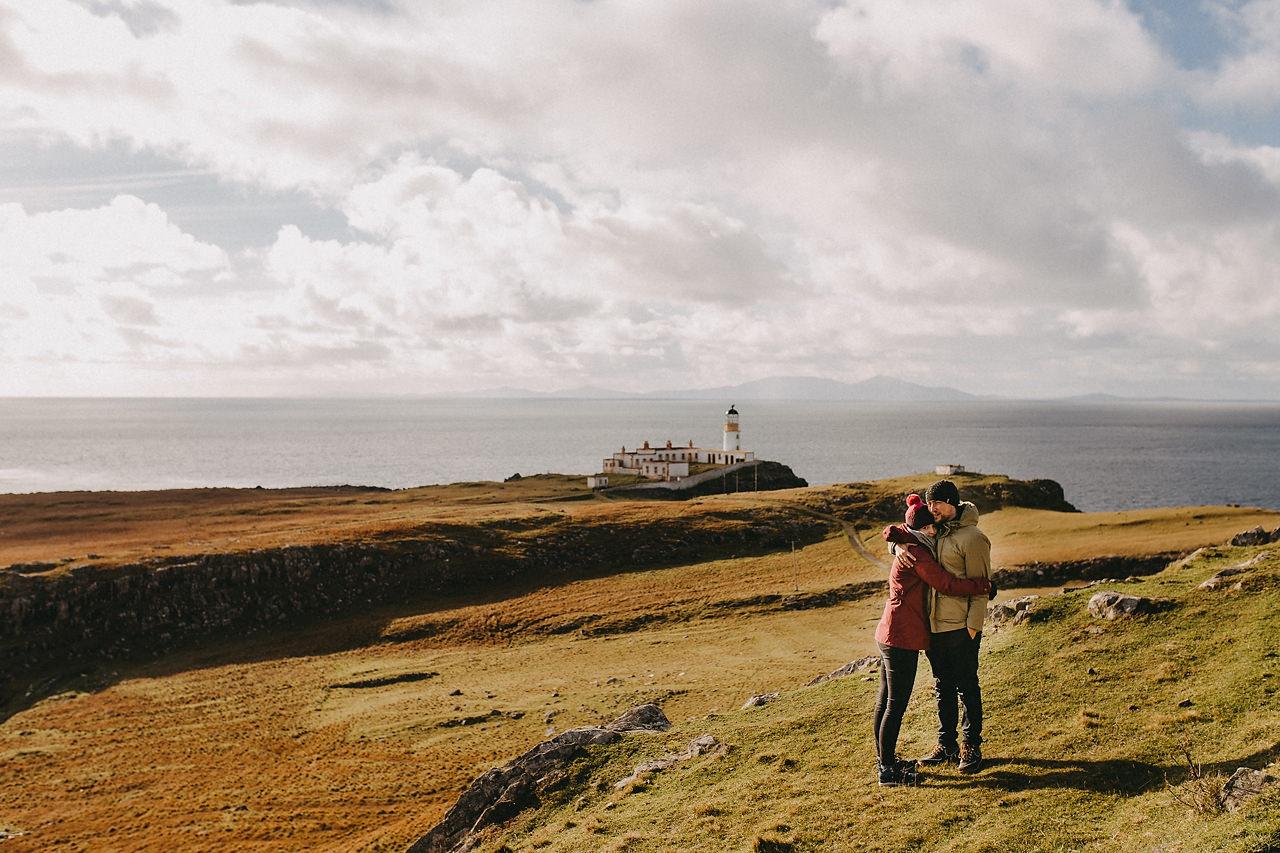 Nest Point wedding, isle of skye